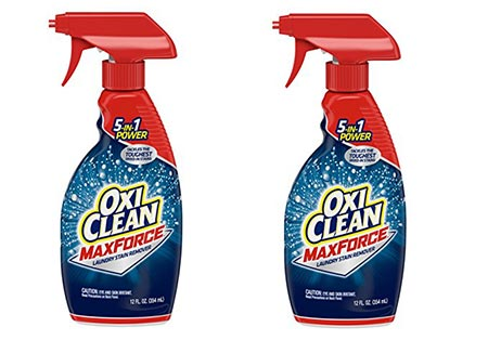 3. OxiClean Max Force Laundry Stain Remover Spray 12 ounce - 2 pack