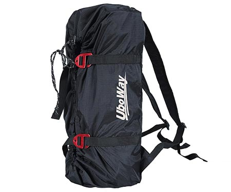 1. Uboway Rock Climbing Rope Bag Mountaineering Shoulder Backpack for Climbing, Hiking, Trekking