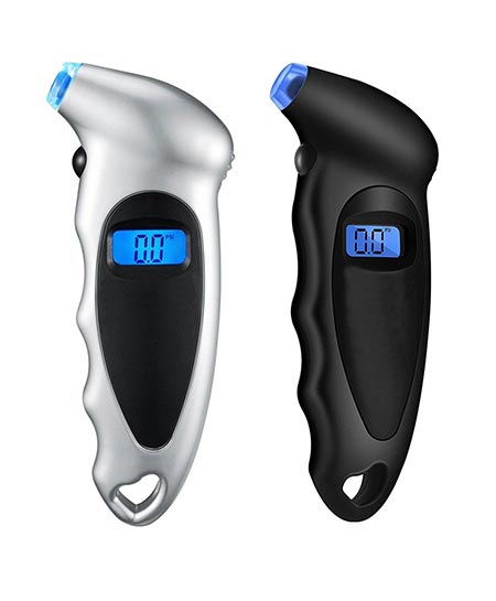 7. ILamourCar 2 Pack Digital Tire Pressure
