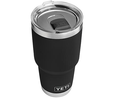 1. YETI Rambler 30 oz Stainless Steel Vacuum Insulated Tumbler w/MagSlider Lid