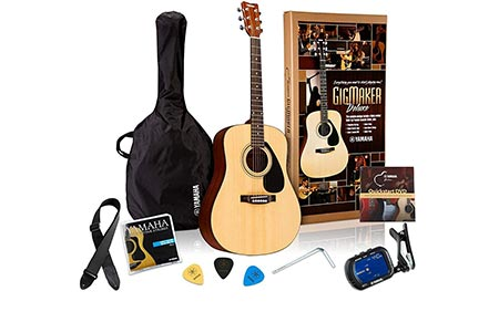 8. Yamaha Gigmaker Deluxe Acoustic Guitar