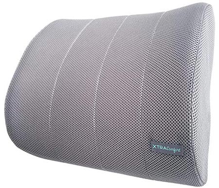 5. Xtra-Comfort Lumbar Support - For Office Chairs and Cars