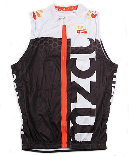 4.Mzcurse Men's Sleeveless Cycling Vest