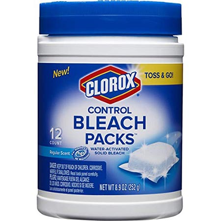 4. Clorox Control Bleach Packs