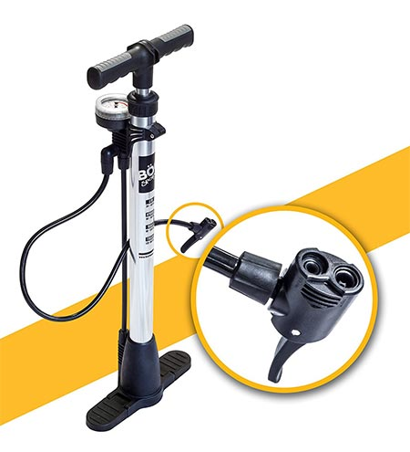 6.BoG Products Bicycle Floor Pump