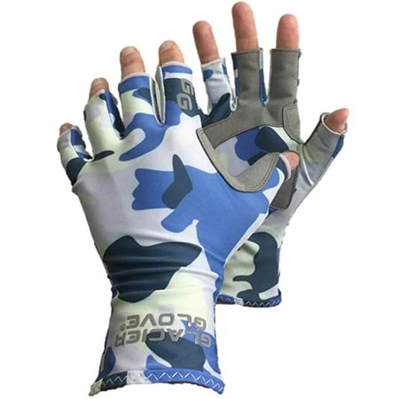 2. Glacier Glove Islamorada Gray Sungloves