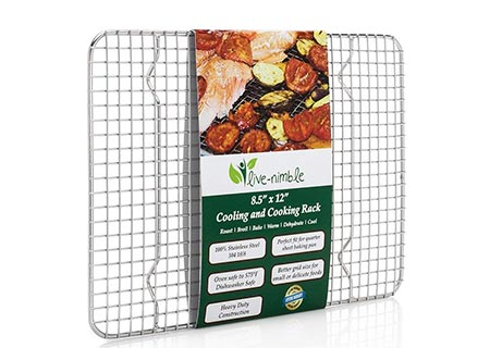 10. Live-Nimble Baking Cooling Rack