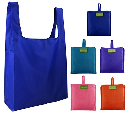 4. BeeGreen Reusable Grocery Bags Set of 5