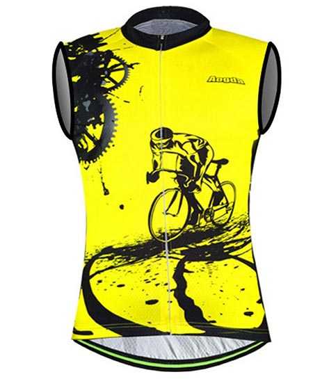 2.Sleeveless Cycling Jersey
