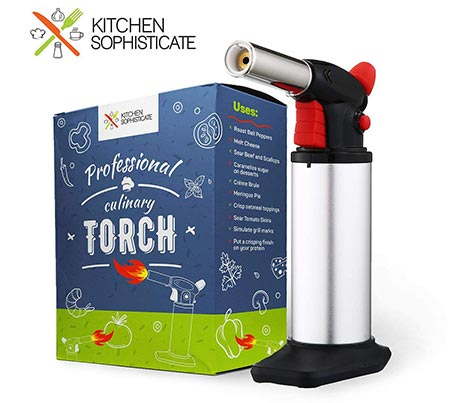 6. Kitchen Sophisticate Professional Culinary Torch