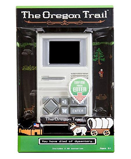 8. Basic Fun The Oregon Trail Handheld Game