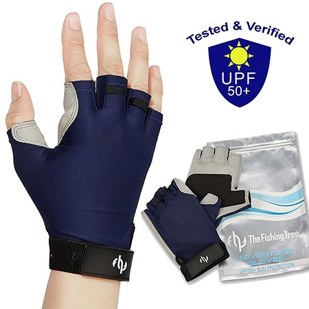 3. The Fishing Tree UV FISHING GLOVES