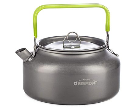 1. Overmont Camping Kettle Camp Tea Kettle