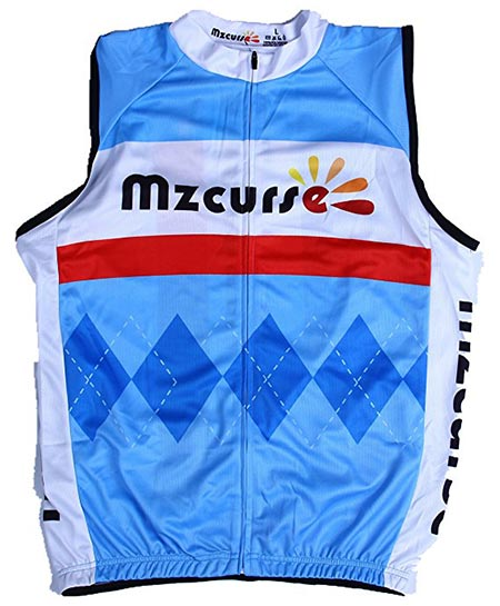 10.Mzcurse Men's Sleeveless Cycling Vest