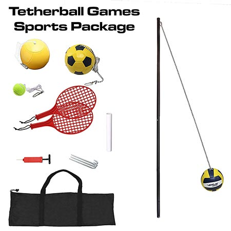 5. Verus Sports In-ground 3-in-1 Tetherball set