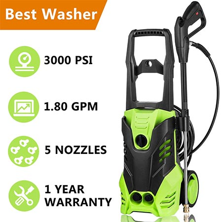 10. Meditool Electric Pressure Washer