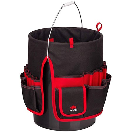 3. NoCry Heavy Duty Bucket Organizer