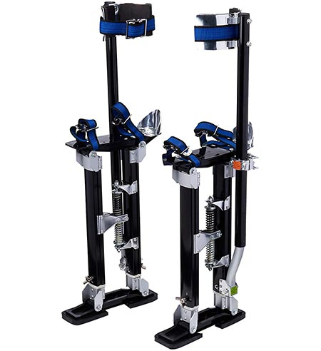 3. Pentagon Tools 1116 Black Drywall Stilt