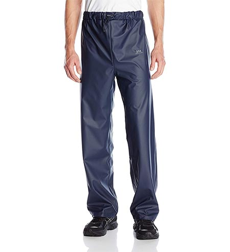1. Helly Hansen Men's Voss Windproof Waterproof Rain Pant