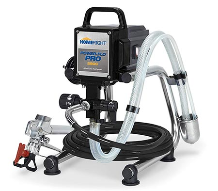 8. HomeRight Power Flo Pro 2800 C800879 Airless Paint Sprayer