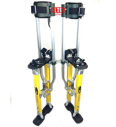 7. SurPro S2.1 Dual Legs Support Magnesium Drywall Stilts