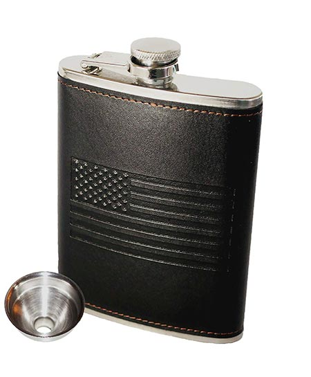 5. American Flag Flask by OUTZIE