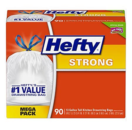 3. Hefty Strong Trash Bags
