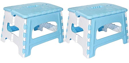 6. Green Direct Folding Step Stool for Kids and Adult