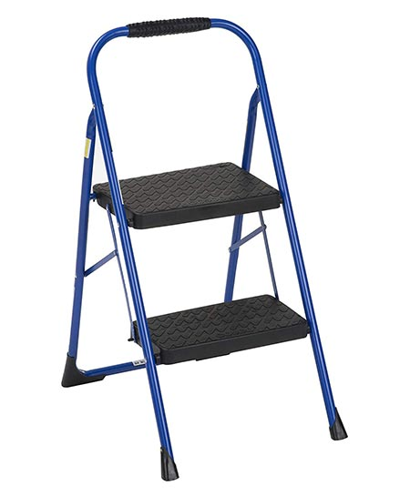 4. Cosco Two Step Big Step Folding Step Stool
