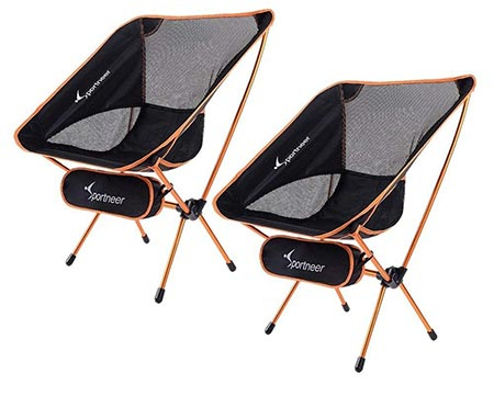 7. Sportneer Portable Lightweight Folding Camping Chair