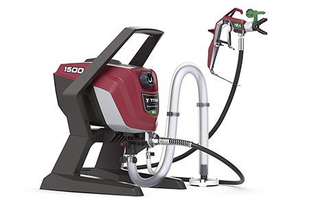 9. Titan ControlMax 1500 High-Efficiency Airless Paint Sprayer
