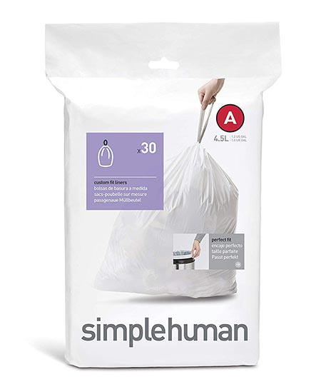 2. Simplehuman Code A Custom Fit Liners