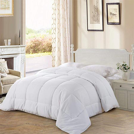 5. Balichun Goose Down Quilted Comforter