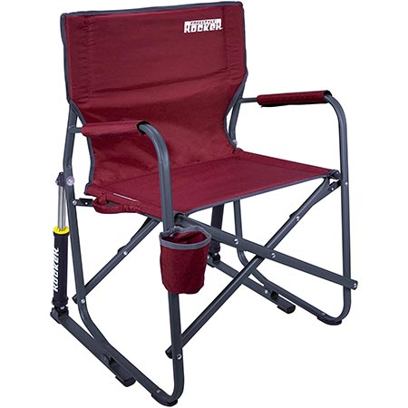 2. GCI Outdoor Freestyle Rocker Portable Folding Rocking Chair