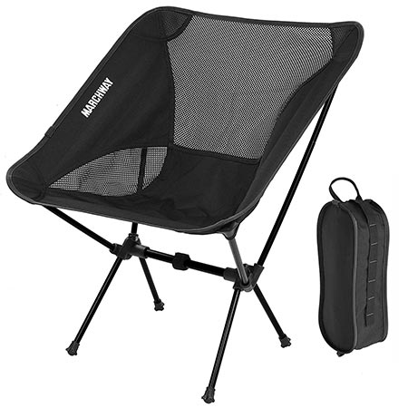 8. MARCHWAY Ultralight Folding Camping Chair
