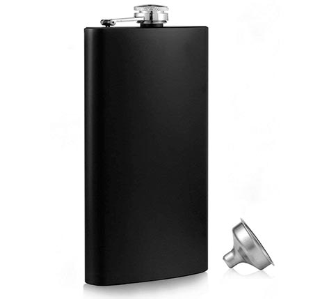 7. Menghao Steel Stainless Hip Flask