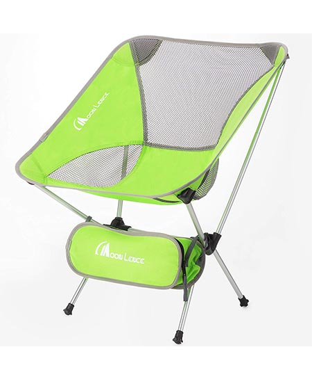 6. Moon Lence Outdoor Ultralight Portable Folding Chairs