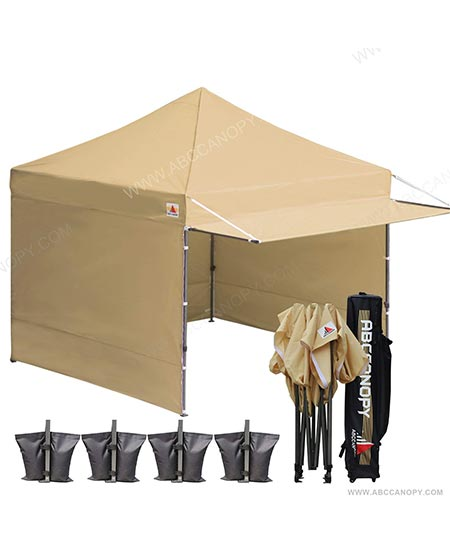 7. ABCCANOPY (20+Colors 10x10 Easy Pop up Canopy Tent