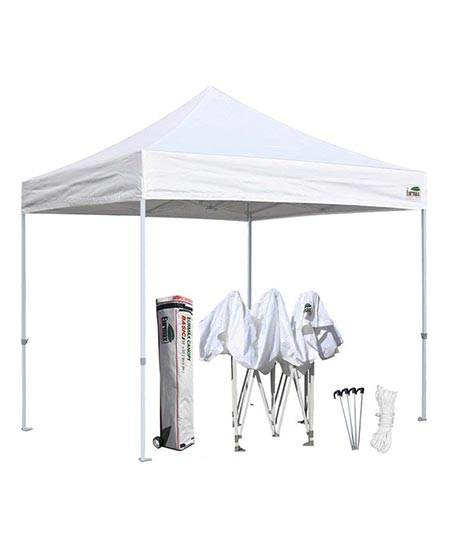 5. Eurmax 10'x10' Ez Pop Up Canopy Tent