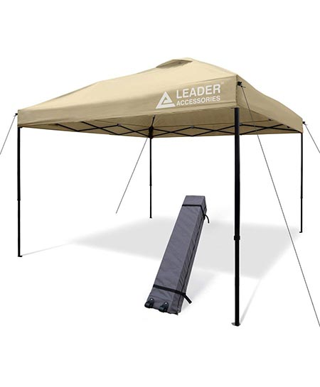 4. Leader Accessories 10 x 10 ft Instant Canopy