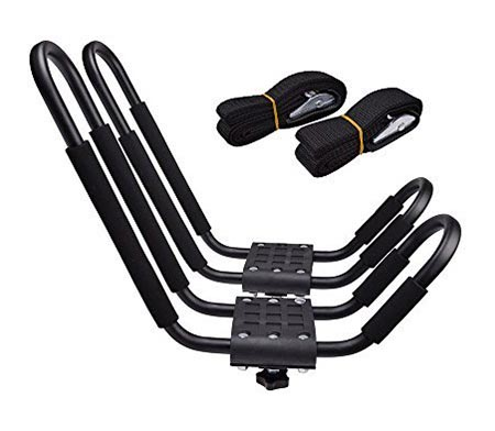 1 TMS J-Bar Rack HD Kayak Carrier