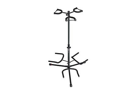 6. Gator Frameworks Adjustable Triple Guitar Stand