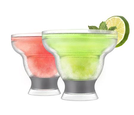 2. HOST Margarita FREEZE Cooling Cups (set of 2)