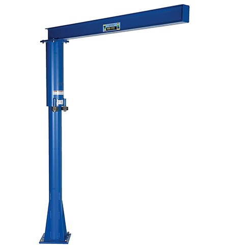 7. Vestil JIB-FM-6 Steel Fixed Floor Mounted Jib Crane
