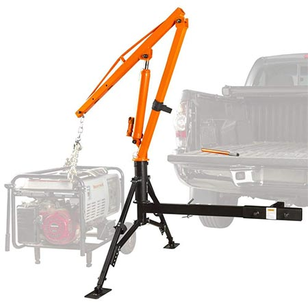 2. Apex Hydraulic Hitch-Mount Pickup Truck