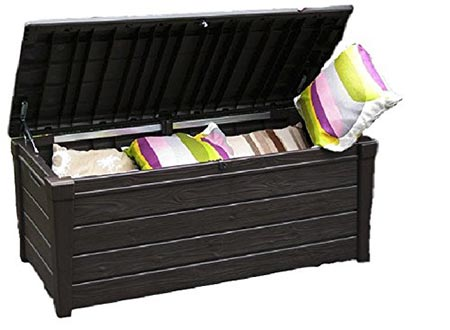 4. Plastic Storage Deck Durable Weather Resistant (Rain, sun, and snow)