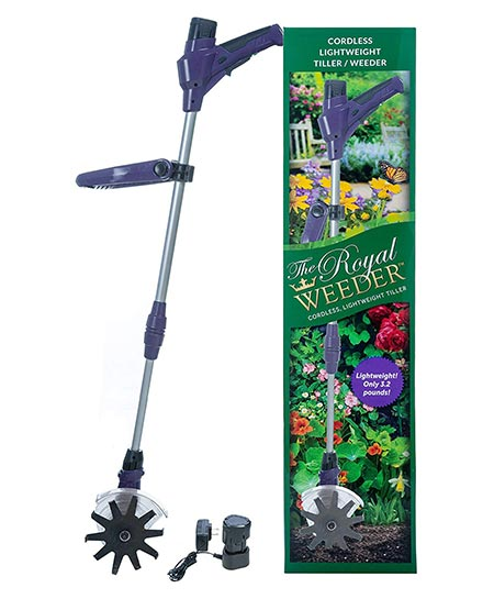 7. The Royal Weeder Lightweight Electric Tiller and Cultivator