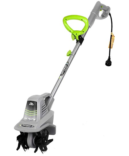 1. Earthwise 7.5 Inch TC70025 7.5-Inch 2.5-Amp Corded Electric Tiller/Cultivator