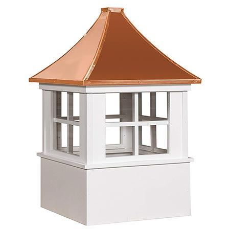 1. East Coast Weathervanes and Cupolas Vinyl Deerfield Cupola (Vinyl, 21