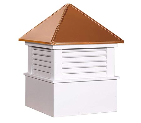 2. East Coast Weathervanes and Cupolas Vinyl Douglas Cupola (Vinyl, 21 in square x 30 in tall)